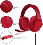Logitech G433 7.1 Red